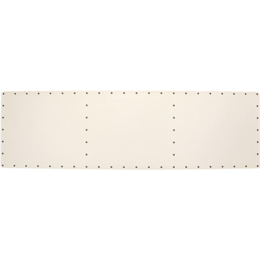 sololak bílý organizér 49x14,5 cm s otvory 22B4914O