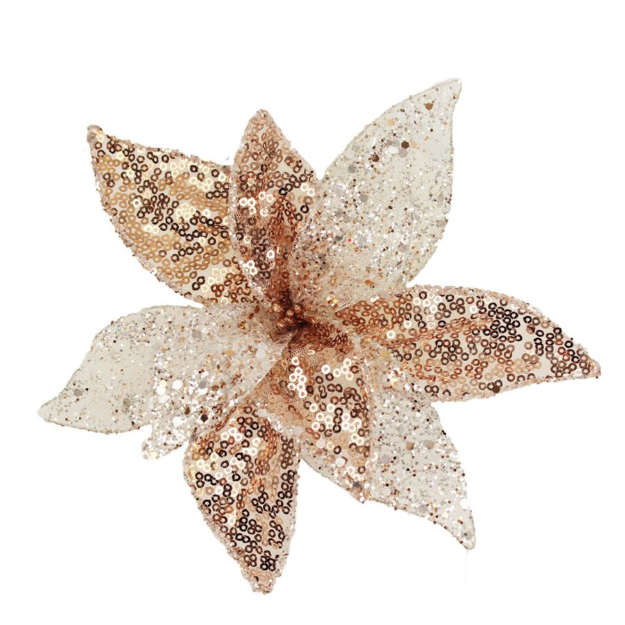 Dekor. květ 20cm, růžový X1660/2