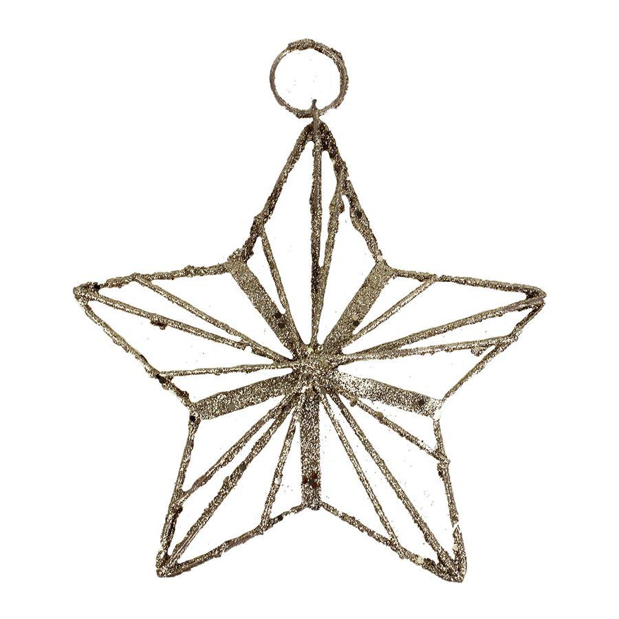 Dekorace hvězda K1096/ZL
