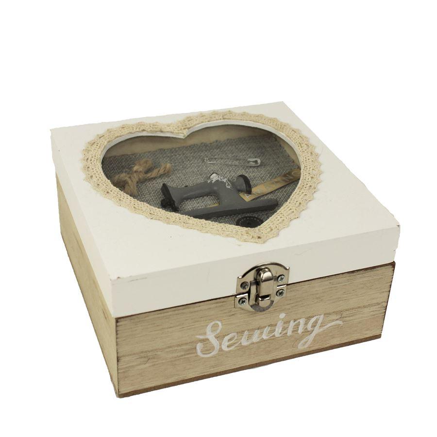 Dřevěná krabička D1191