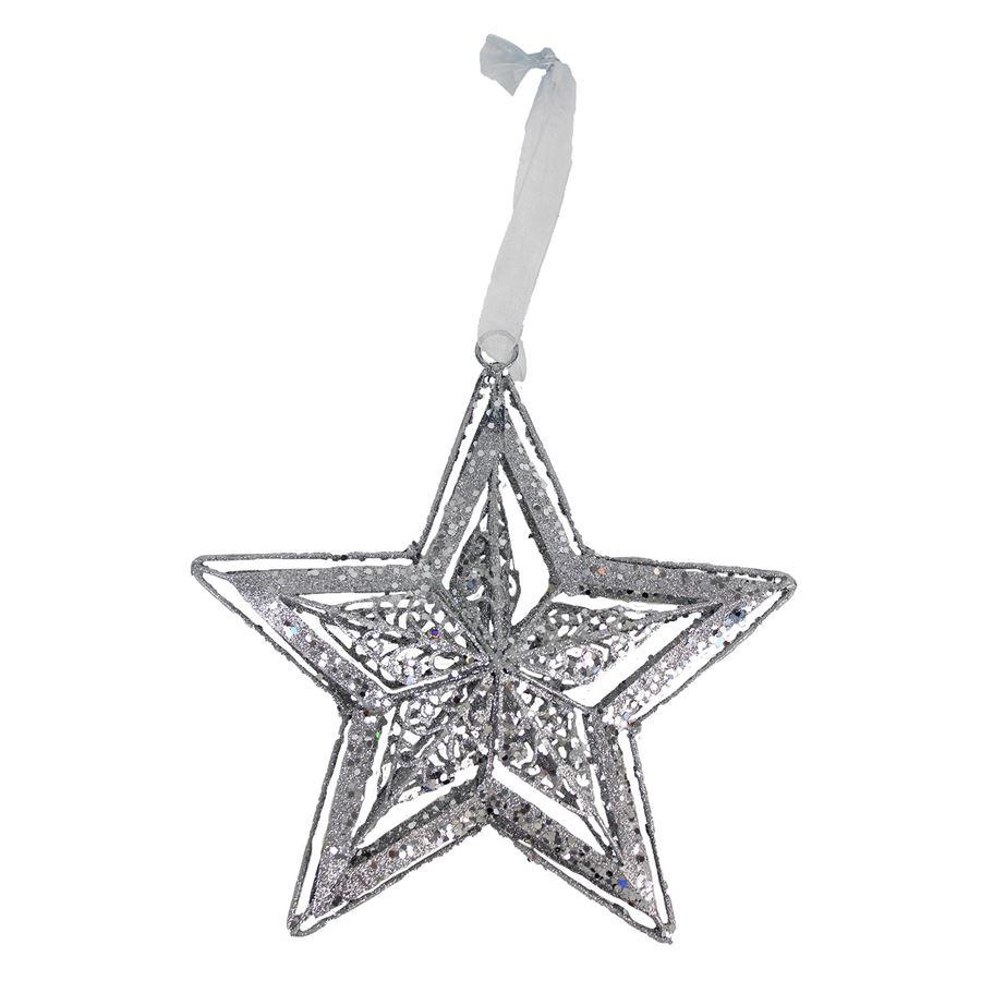 Dekorace hvězda X2097-28