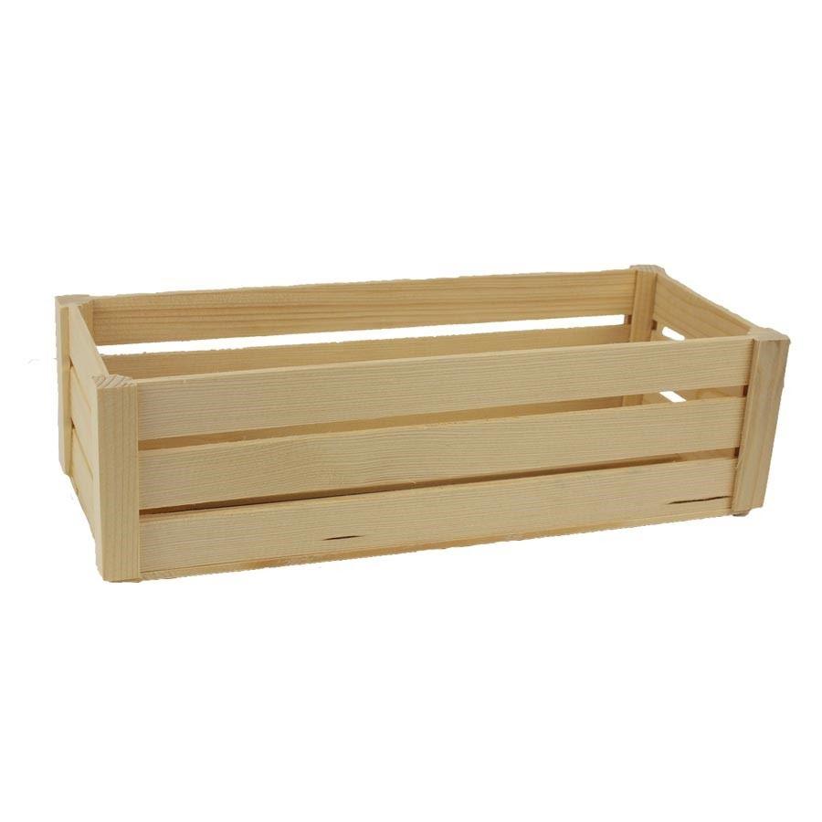 Dřevěná bedýnka 097078