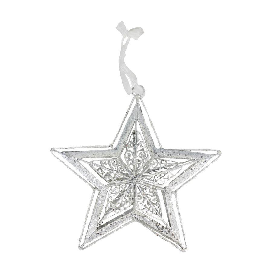 Dekorace hvězda X2097-01