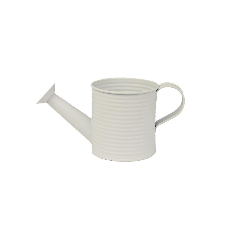Konvička plechová bílá K1860-01