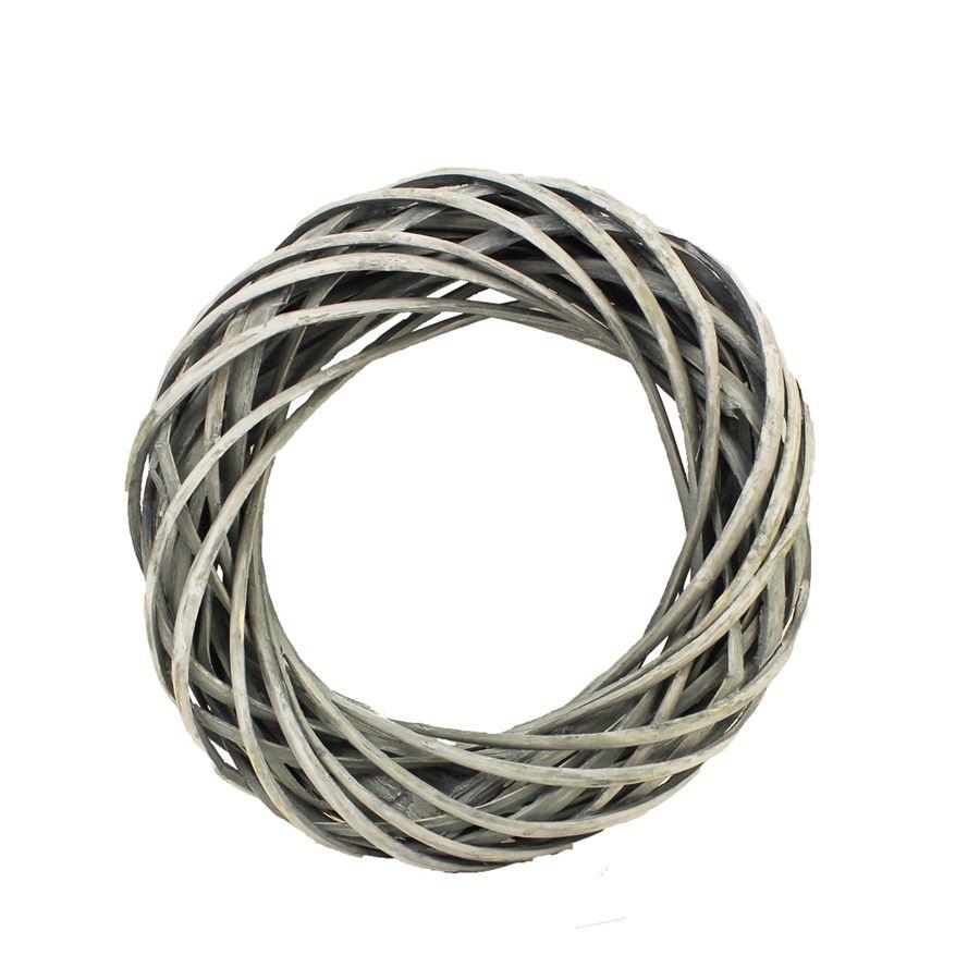 Věnec šedý pr. 20 cm P0406-21
