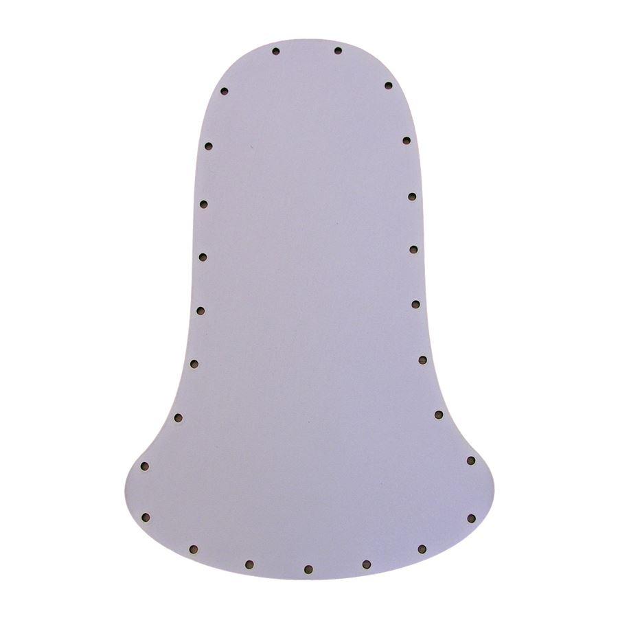sololak bílý zvonek 20x13 22B2013Z