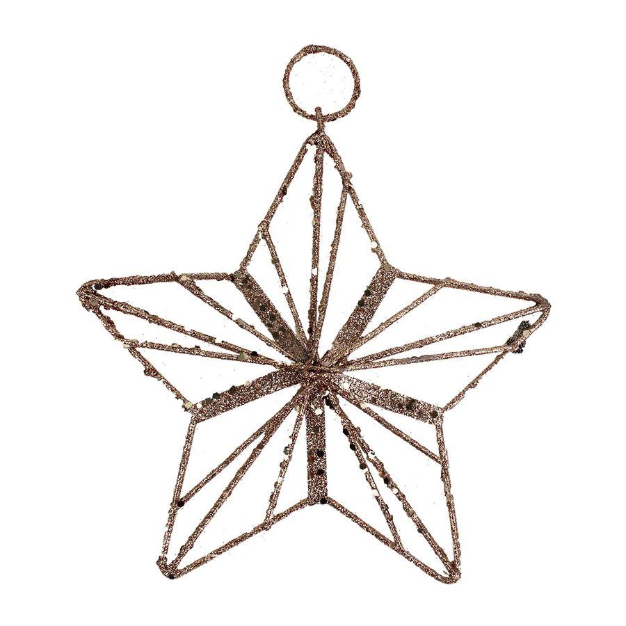 Dekorace hvězda K1096/R
