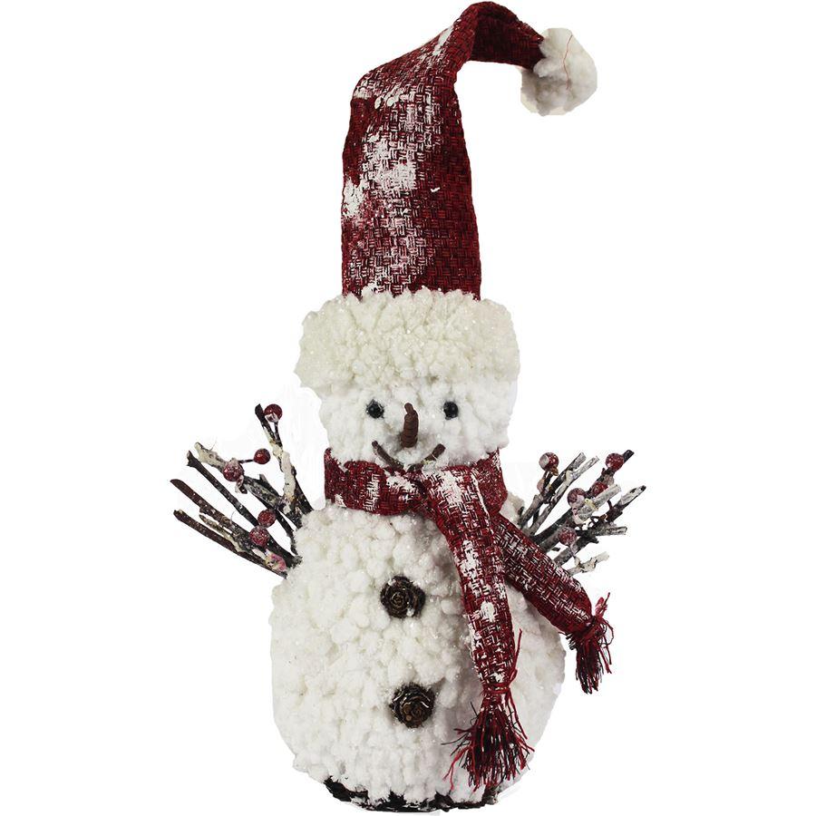 Dekorační sněhulák X0228