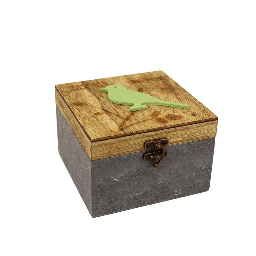 Dřevěná krabička D1101