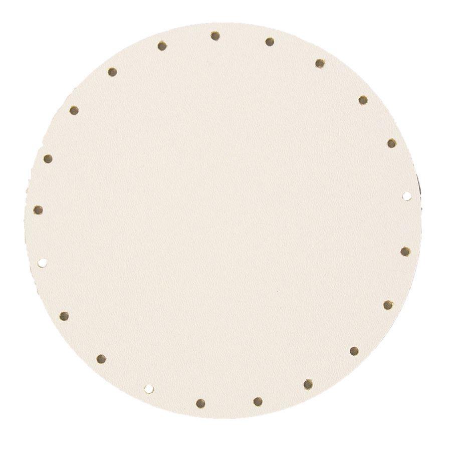 sololak bílý pr.14cm s otvory 22B0014K