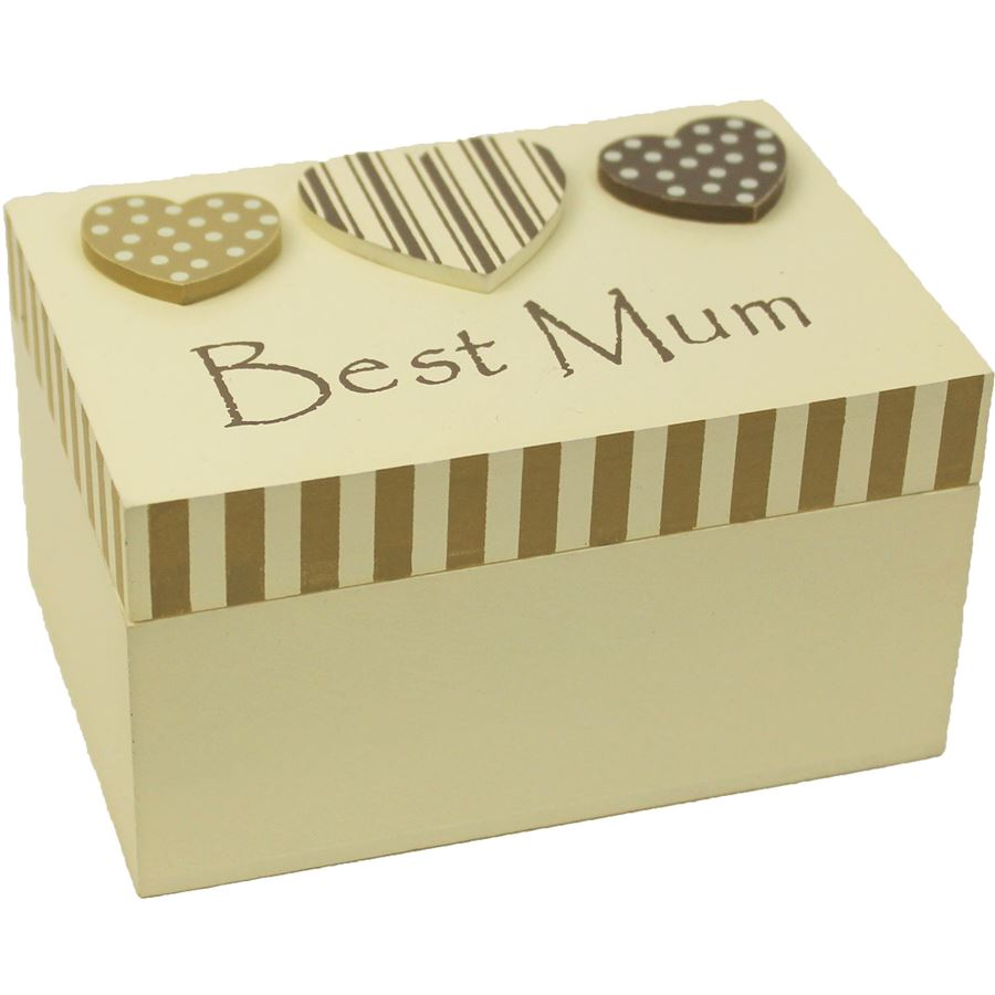 Dřevěná krabička Best Mum