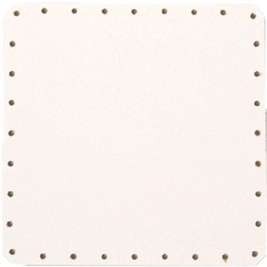 sololak bílý čtver.15x15cm s otvory 22B1515C