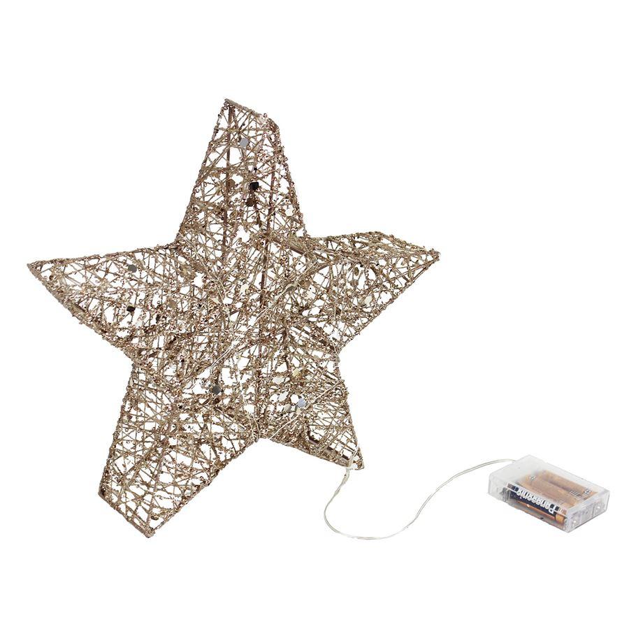 Hvězda s LED osvětlením X2103