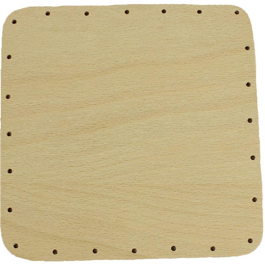 překližka tl.4 mm, čtverec 15x15 cm s otvory 22P1515C