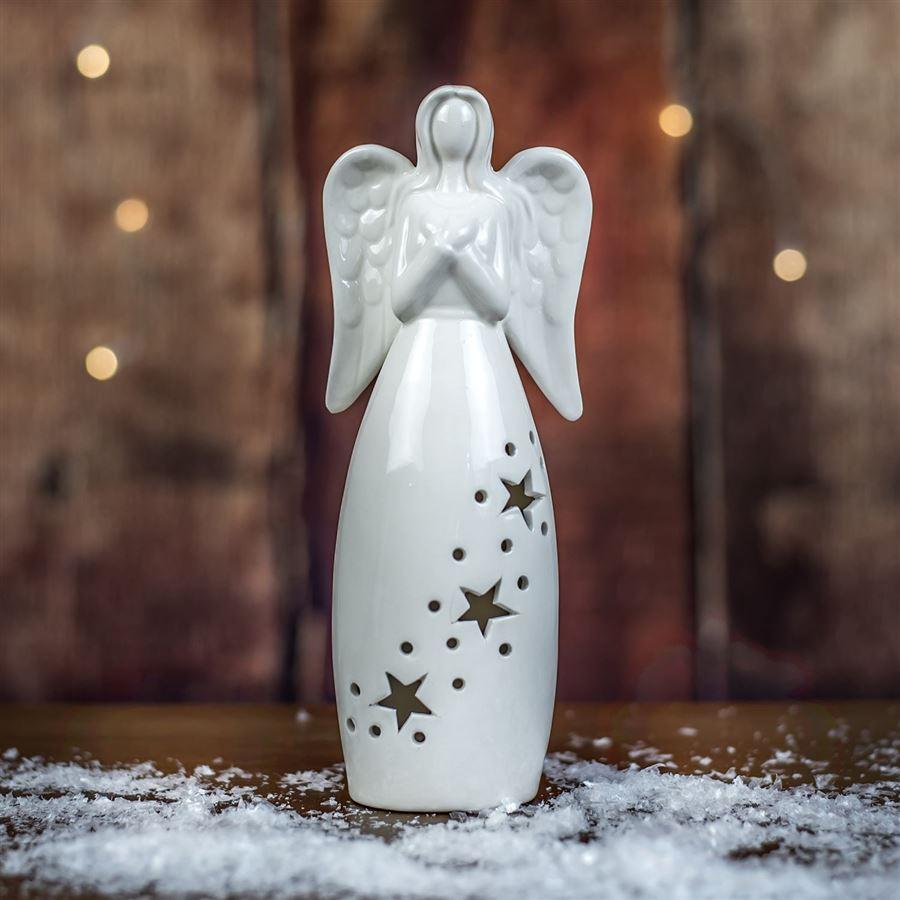 Anděl s led osvětlením X2011