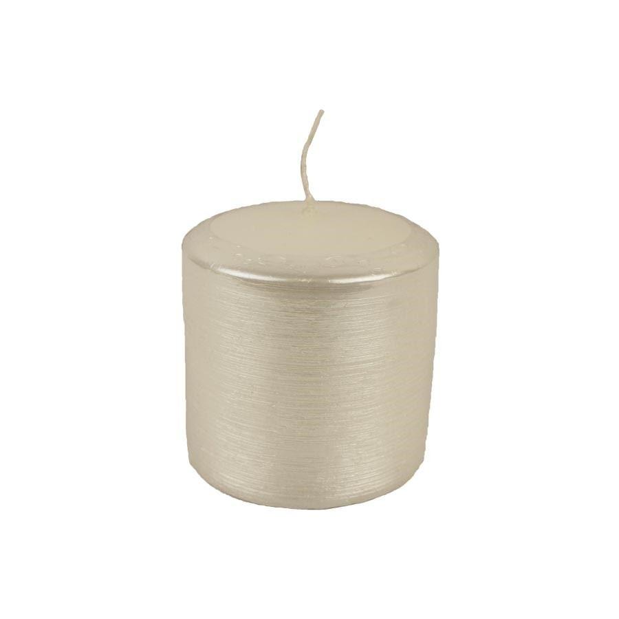 Svíčka KONTURY - bílá MK0002
