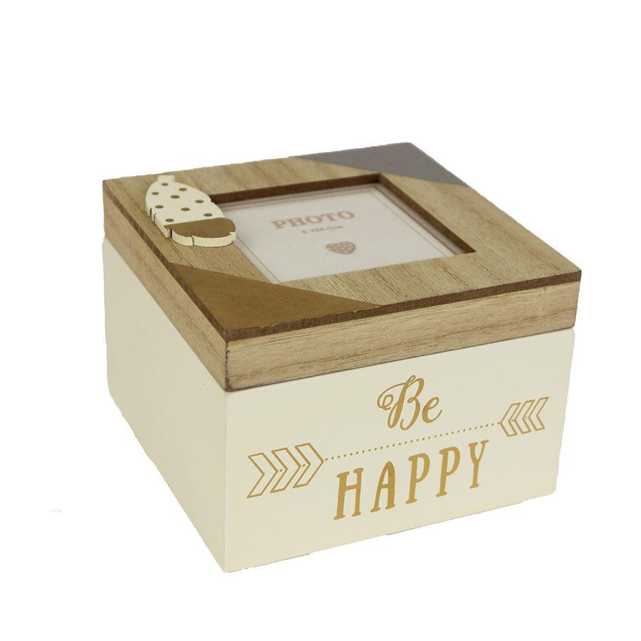 Dřevěná krabička D1328