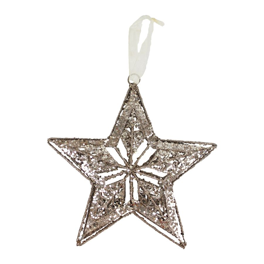 Dekorace hvězda X2097-29