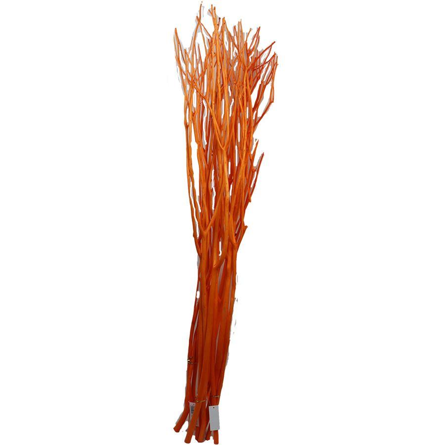 větve Mitsumata 3ks-sv. 120cm - oranžové 381987-04