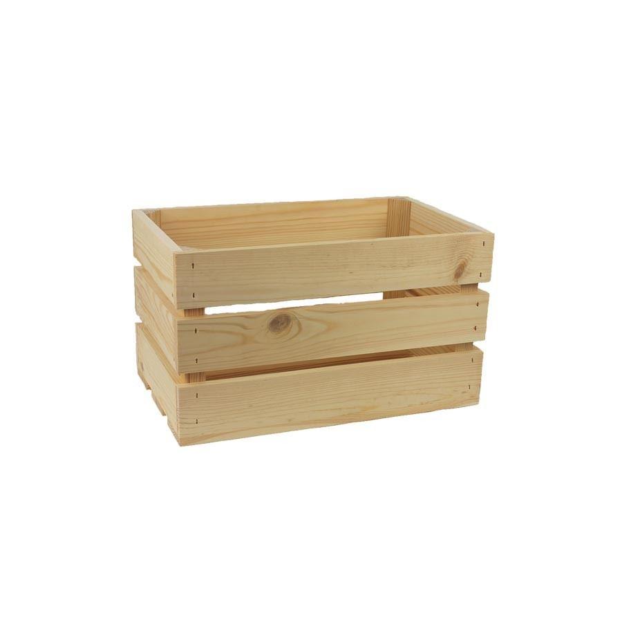 Dřevěná bedýnka 097082